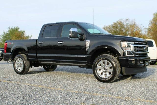 2020 Ford F-350 Super Duty Platinum Crew Cab 4WD