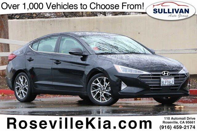 2019 Hyundai Elantra Limited Sedan FWD