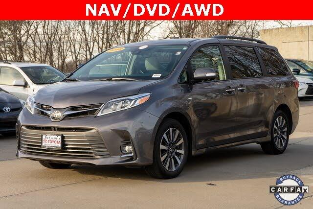 2018 Toyota Sienna Limited 7-Passenger AWD