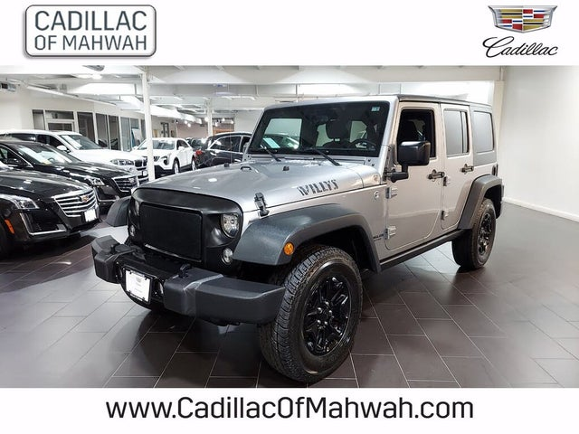 2015 Jeep Wrangler Unlimited Willys Wheeler Edition 4WD
