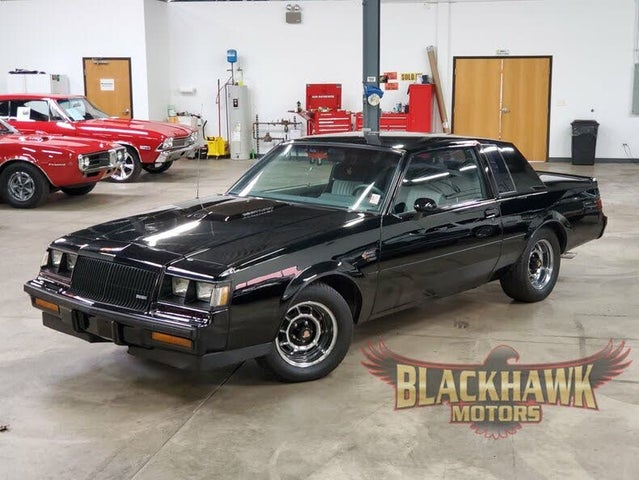 1987 Buick Regal Grand National Turbo Coupe RWD