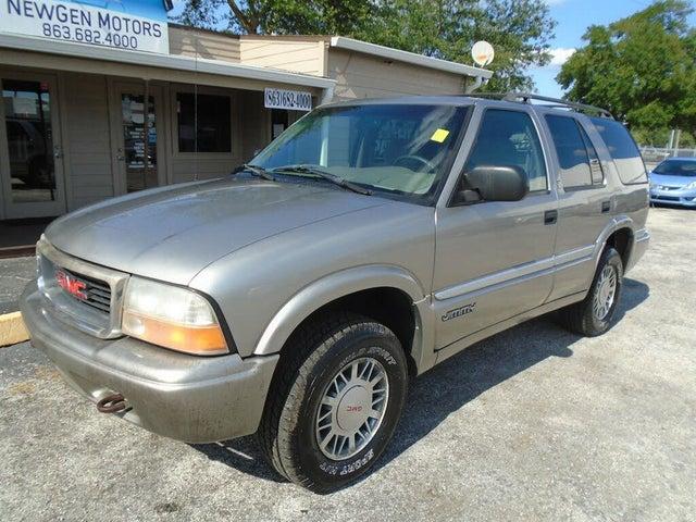 2001 GMC Jimmy 4 Dr SLE 4WD SUV