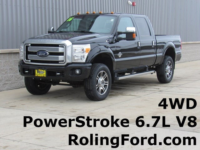 2016 Ford F-350 Super Duty Platinum Crew Cab LB 4WD