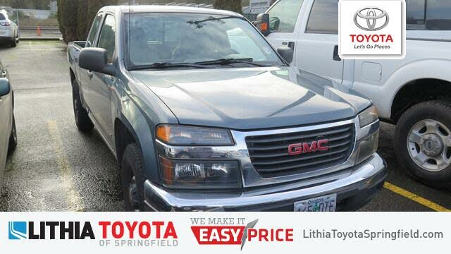 2007 GMC Canyon 2 Dr Work Truck Extended Cab 2WD