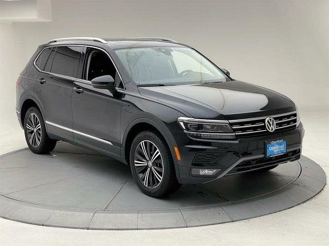 2018 Volkswagen Tiguan SEL Premium 4Motion AWD