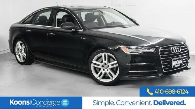 2016 Audi A6 2.0T quattro Premium Plus Sedan AWD