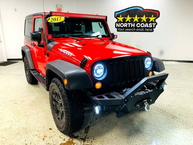 2017 Jeep Wrangler Willys Wheeler W
