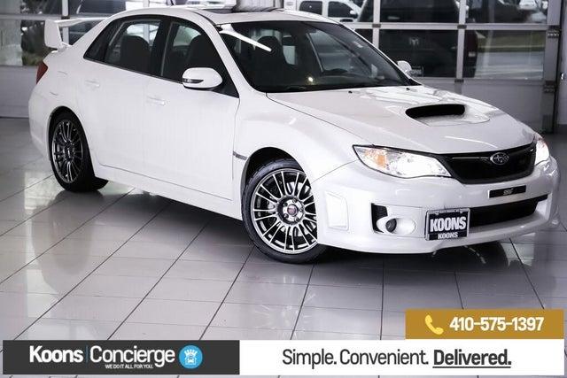 2013 Subaru Impreza WRX STI Limited Sedan AWD