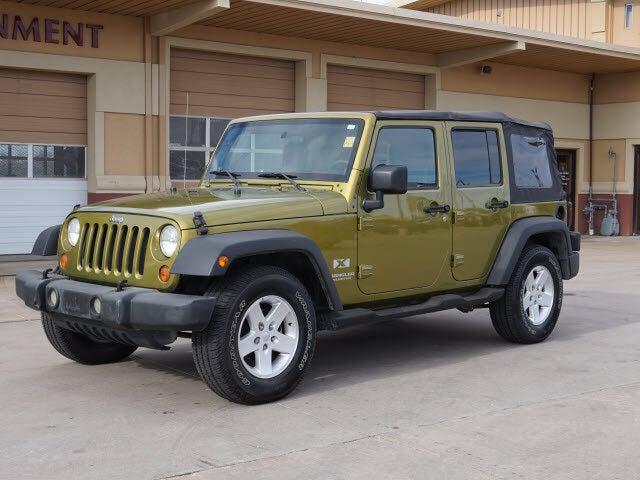 2007 Jeep Wrangler Unlimited X RWD
