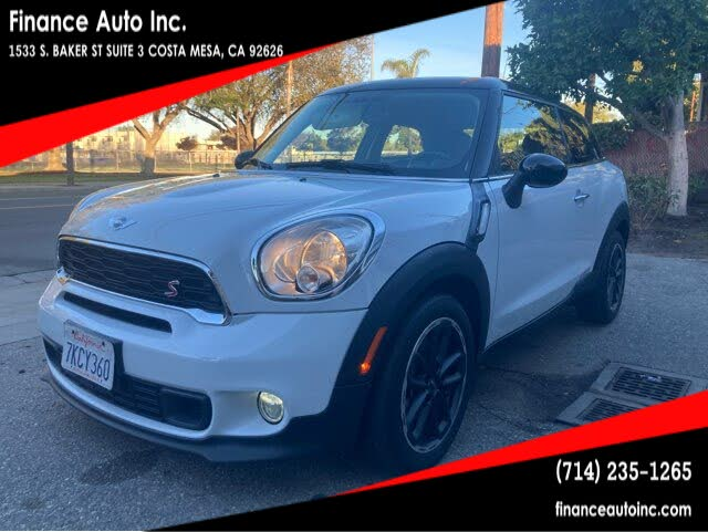 Used Mini Cooper Paceman For Sale Right Now Cargurus
