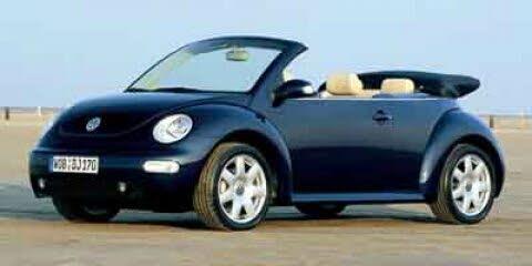 2003 Volkswagen Beetle GLS 2.0L Convertible