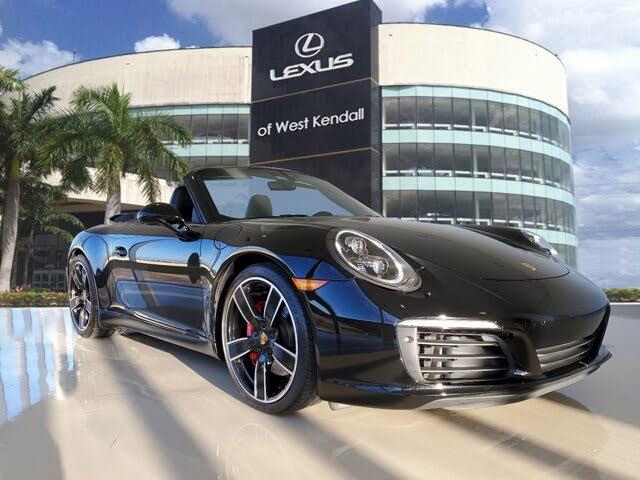 2017 Porsche 911 Carrera GTS Cabriolet RWD