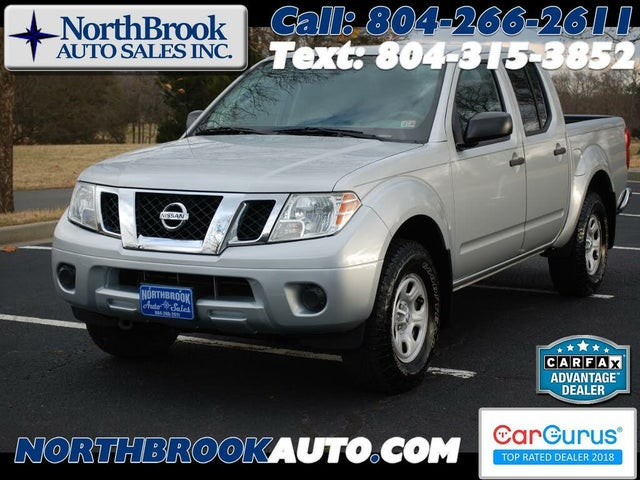 2015 Nissan Frontier S Crew Cab 4WD
