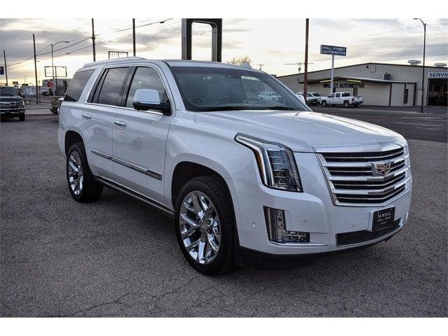 2018 Cadillac Escalade Platinum 4WD