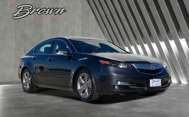 2014 Acura TL FWD with Advance Package