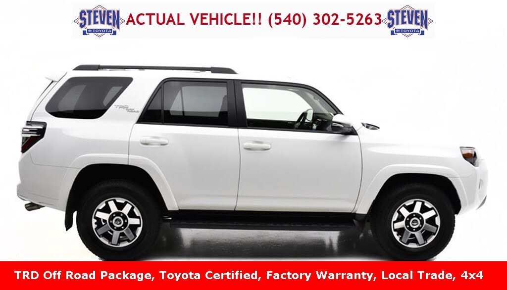 Used 2020 Toyota 4runner Trd Off Road Premium 4wd For Sale Right Now Cargurus