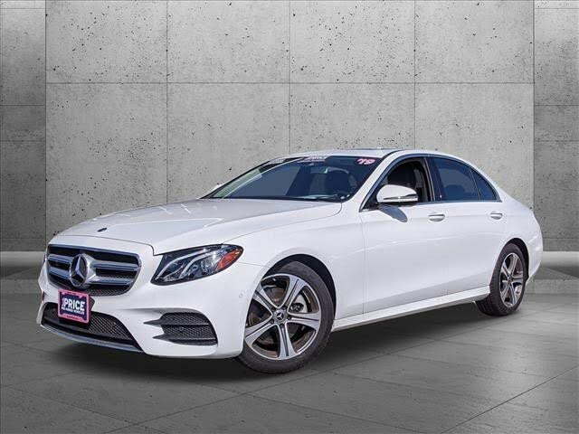 2019 Mercedes-Benz E-Class E 300 Sedan RWD