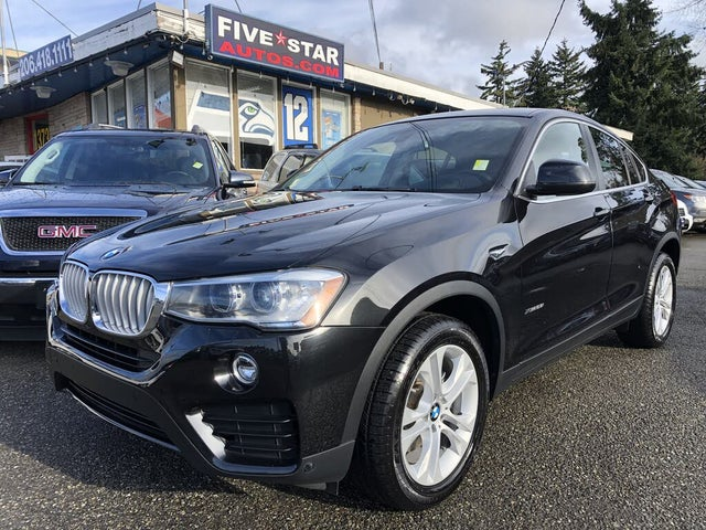 2017 BMW X4 xDrive28i AWD