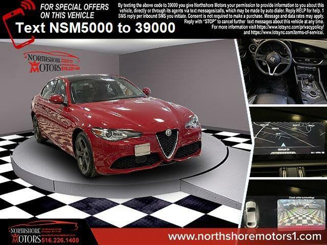 2018 Alfa Romeo Giulia Ti Sport AWD