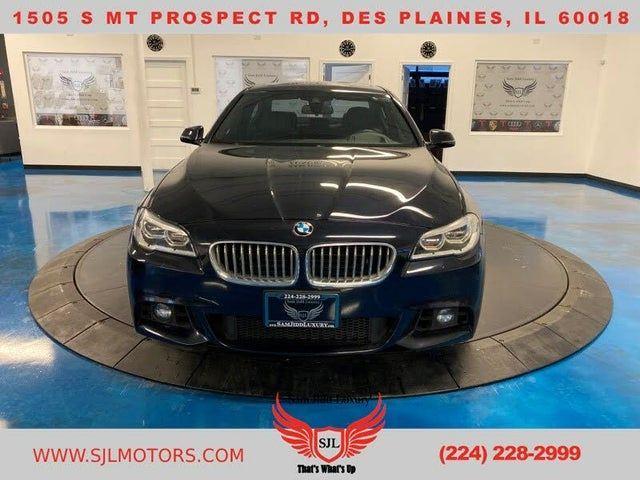2015 BMW 5 Series 550i xDrive Sedan AWD