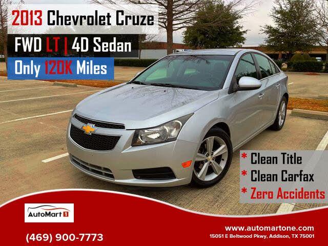 2013 Chevrolet Cruze 2LT Sedan FWD
