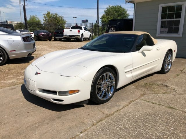 2001 Chevrolet Corvette Convertible RWD