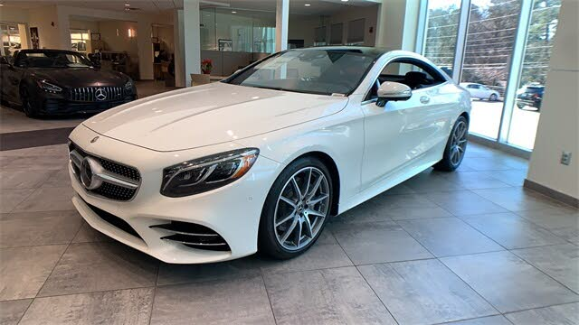 2021 Mercedes-Benz S-Class S 560 4MATIC Coupe AWD