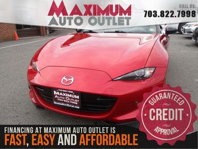 2016 Mazda MX-5 Miata Sport Convertible