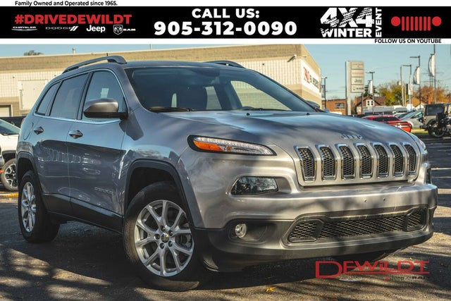 2018 Jeep Cherokee North FWD