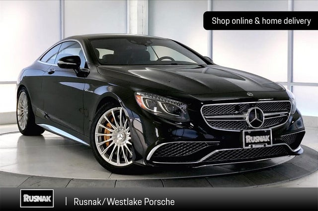 2017 Mercedes-Benz S-Class Coupe S 65 AMG