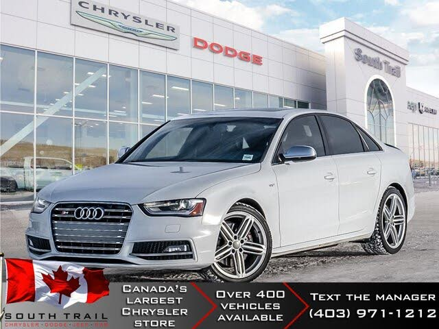 2014 Audi S4 3.0T quattro Technik Sedan AWD