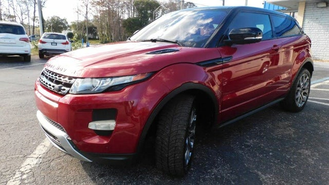 2013 Land Rover Range Rover Evoque Dynamic Coupe