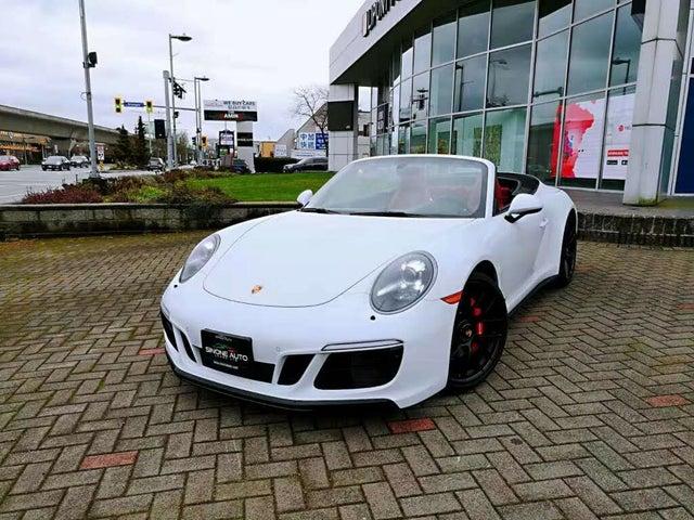 2018 Porsche 911 Carrera GTS Cabriolet RWD