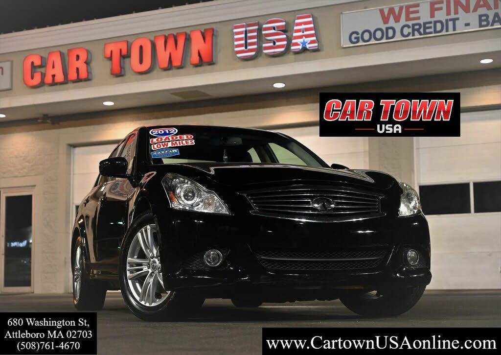 Used 2012 Infiniti G37 X Sedan Awd For Sale Right Now Cargurus
