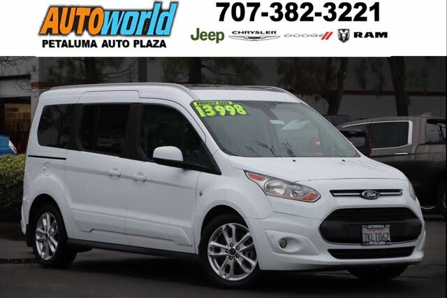 2015 Ford Transit Connect Wagon Titanium LWB FWD with Rear Liftgate