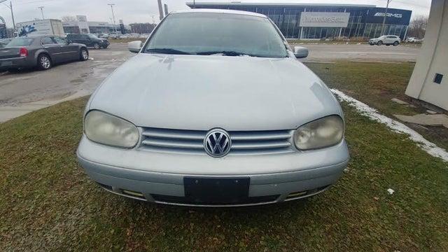 1999 Volkswagen Golf 4 Dr New GLS TDi Turbodiesel Hatchback