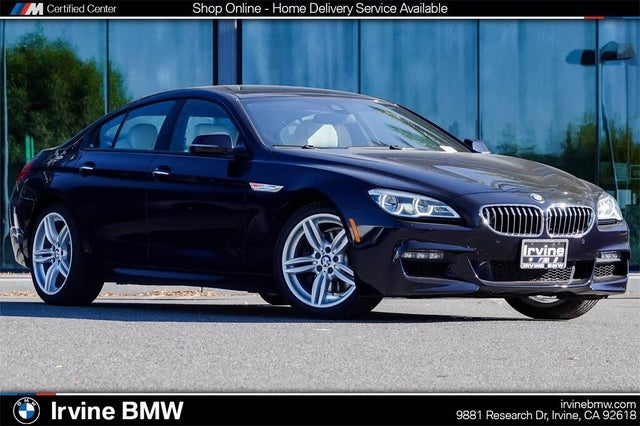2017 BMW 6 Series 640i Gran Coupe RWD