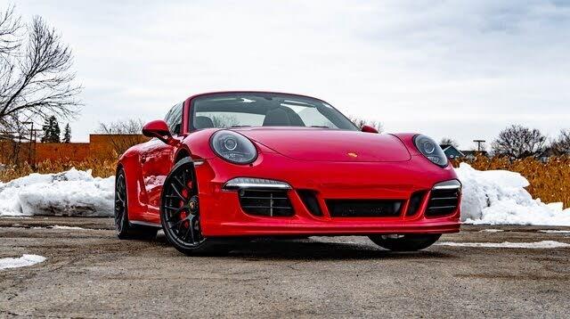 2016 Porsche 911 Targa 4 GTS AWD