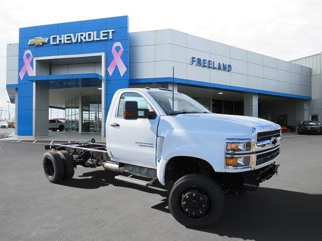 2020 Chevrolet Silverado 5500HD Work Truck Regular Cab 4WD