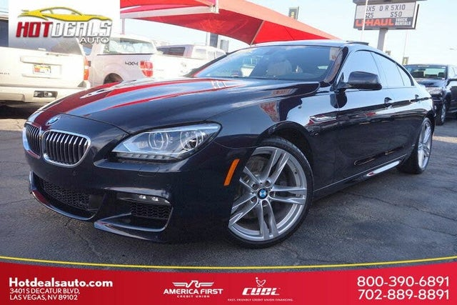 2015 BMW 6 Series 640i Gran Coupe RWD