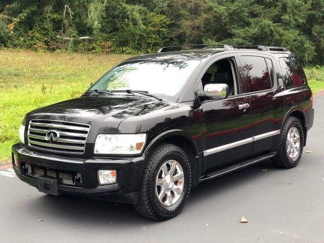 2007 INFINITI QX56 4WD