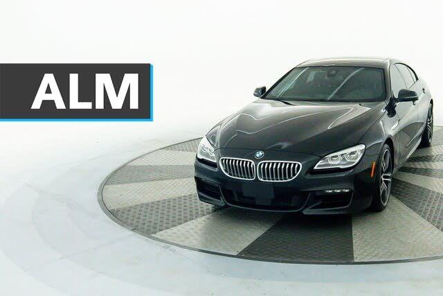 2018 BMW 6 Series 650i xDrive Gran Coupe AWD