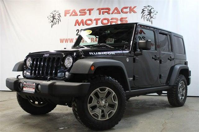 2018 Jeep Wrangler Unlimited JK Rubicon 4WD