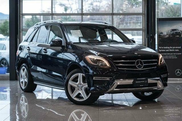 2014 Mercedes-Benz M-Class ML 550 4MATIC