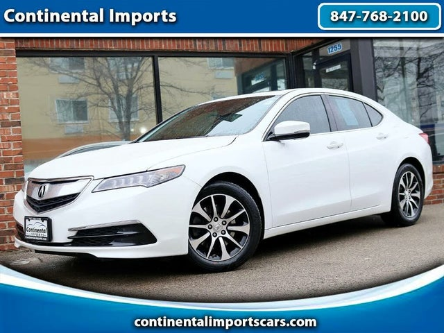 2015 Acura TLX FWD with Technology Package