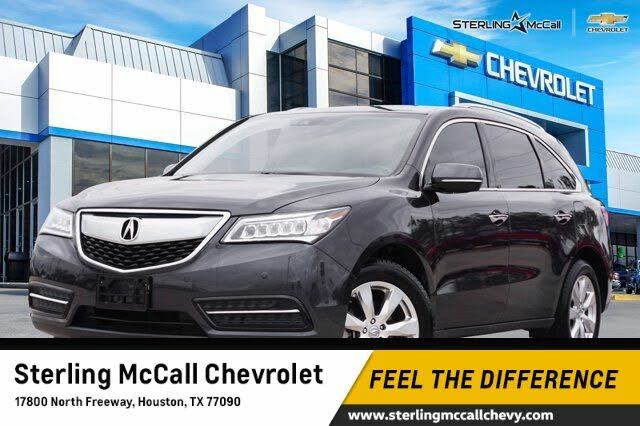 2016 Acura MDX FWD with Advance Package