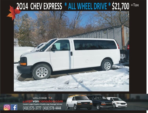 2014 Chevrolet Express 1500 LS AWD