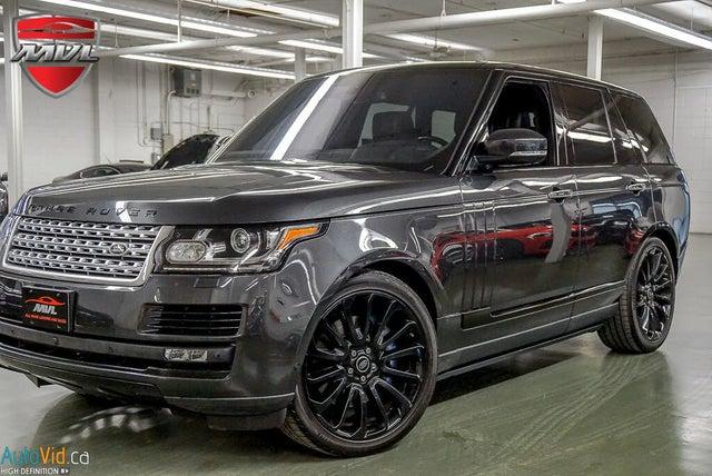 2016 Land Rover Range Rover V8 Autobiography 4WD