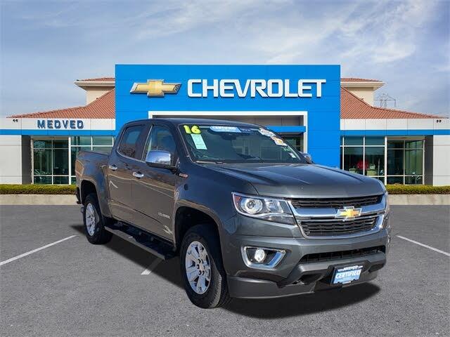 2016 Chevrolet Colorado LT Crew Cab 4WD