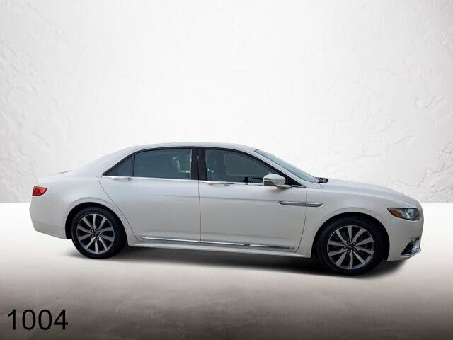 2017 Lincoln Continental Livery FWD